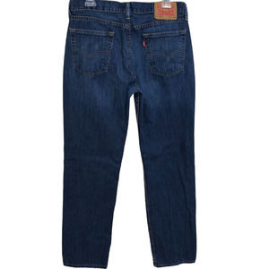 LEVIS 514 Jeans Straight Fit 100% Cotton Denim Medium Wash 33X32